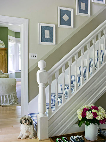 Easy 3-Tone Painted Wainscoting
