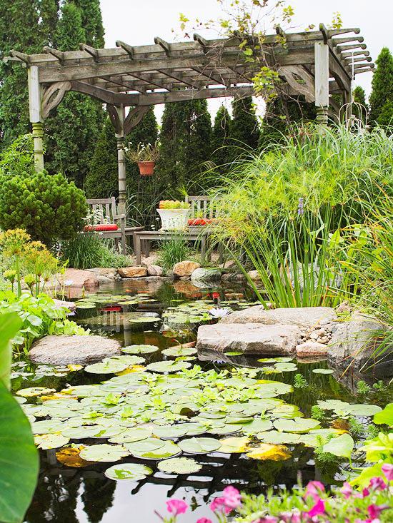 Water Garden Getaway