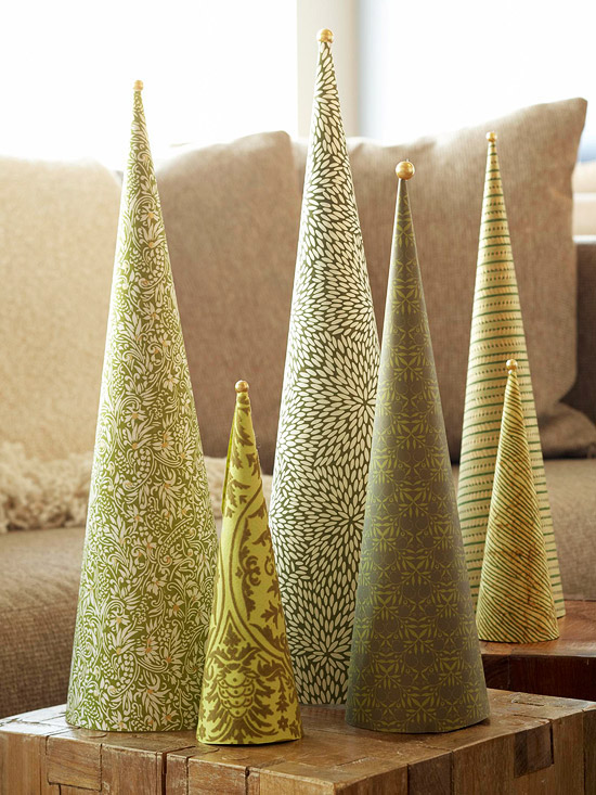 Sweater christmas tree cone 20 more ideas remodelando la casa paper cone trees maxwellsz