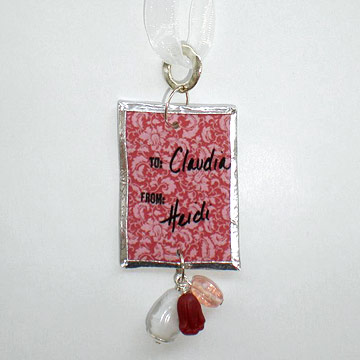 Create Shrink-Art Gift Tags for Christmas