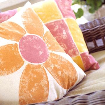 Easy home decor crafts - Cojines pintados en tela ...