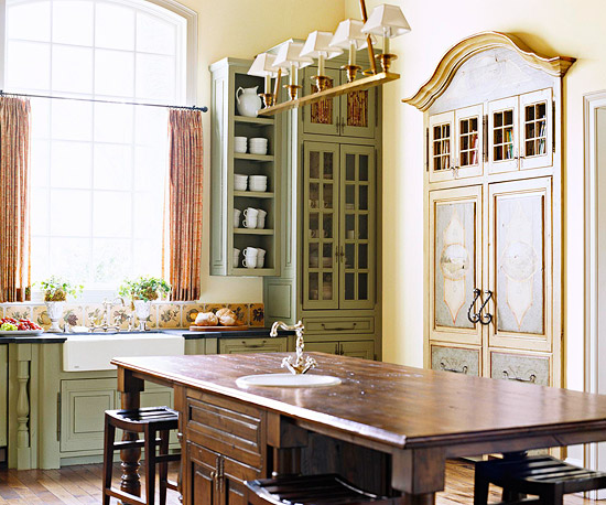 Incorporating Furniture Style Cabinetry Makes The Kitchen Feel More Like A  Gathering Space And Can Make A Space Feel More Intimate, Too.