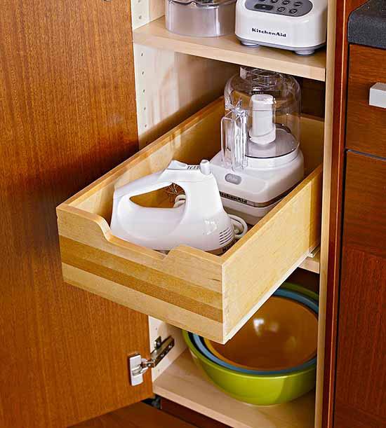 Kitchen Appliance Storage: Small Appliance Storage