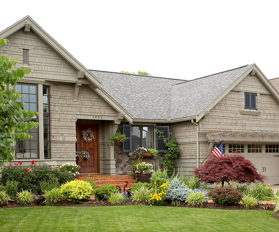 Landscape For Curb Appeal Better Homes Gardens
