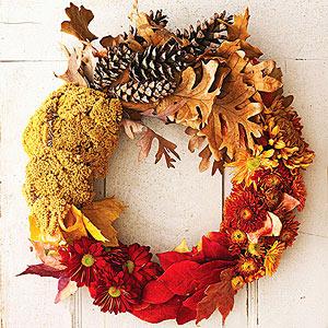 natural fall wreaths - Beautiful Christmas Wreaths