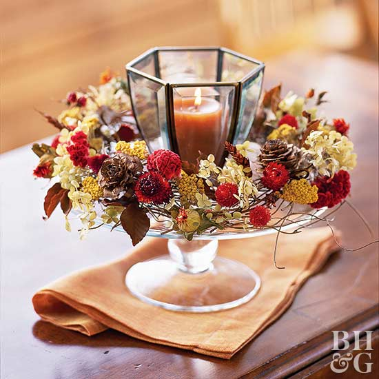 Double Duty Decorating: Thanksgiving And Christmas