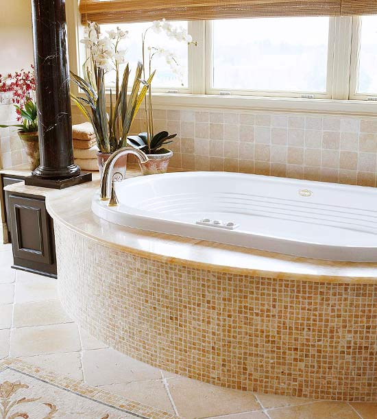 Change the Color of a Marble Whirlpool Tub - Better Homes and ...