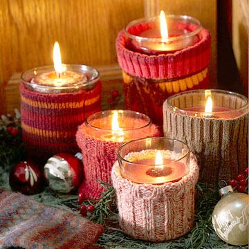 Cozy Candleholders