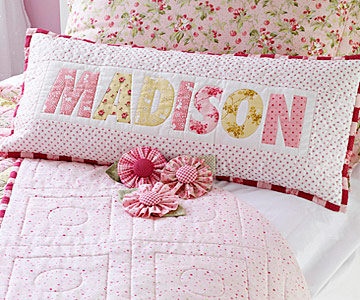 Pretty Name Pillow
