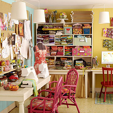 Crafts rooms a place to create for Crafts and hobbies ideas