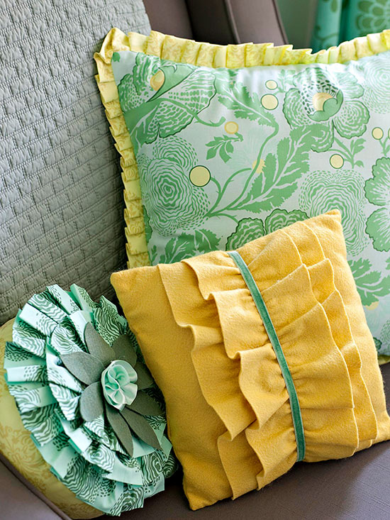 Pillows with Fringe