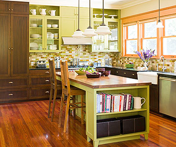 Kitchen Colors with Dark Cabinets | Better Homes & Gardens