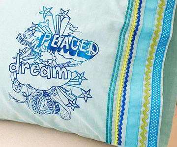 Fun Doodle Pillowcase