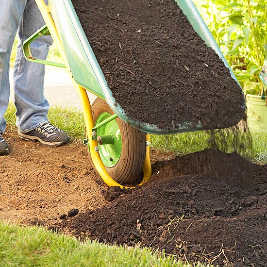 how to make garden with hard to dig ground