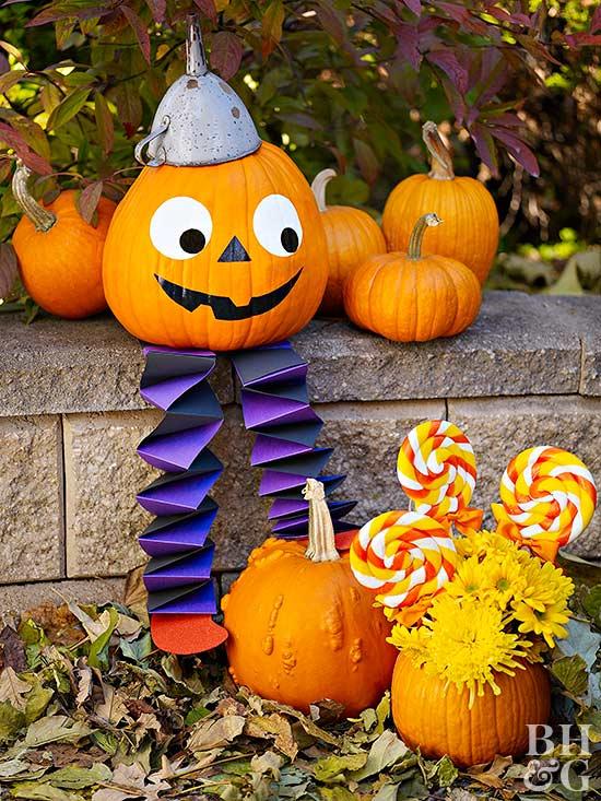 Humpty Dumpty Pumpkin for Halloween