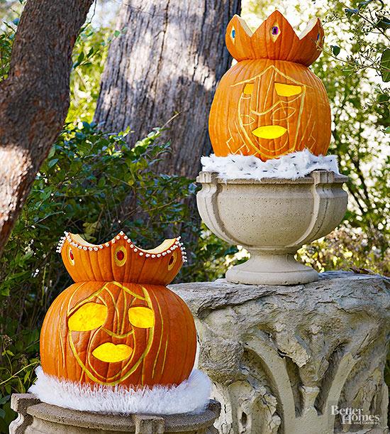 Royal Court Pumpkins for Halloween