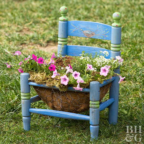 Chair Planters