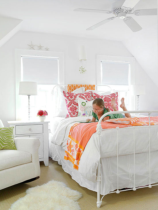 blank canvas - Girls Bedroom Decorating Ideas
