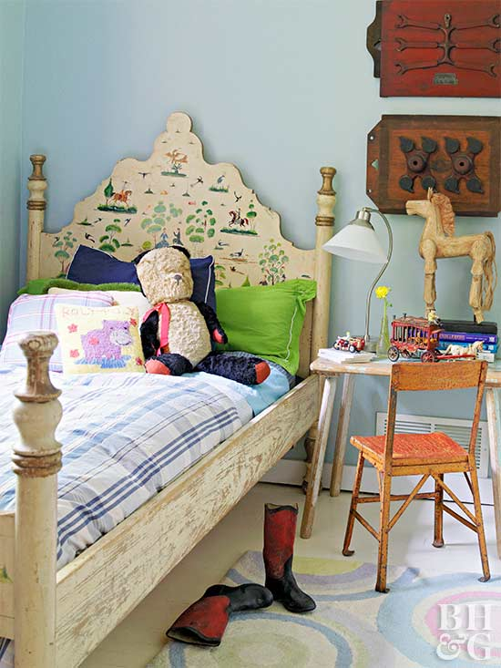 Creative Headboards For Kids Rooms