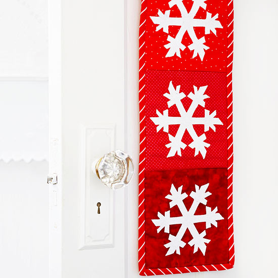 Frosty-Blocks Wall Hanging for Christmas