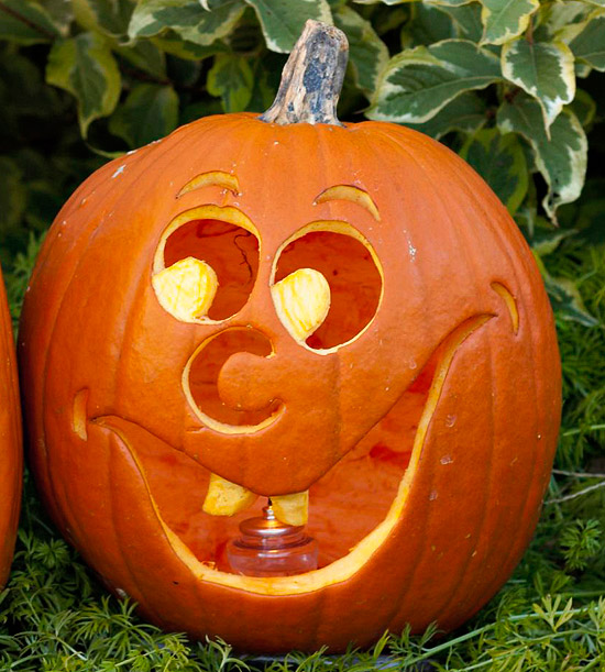 Chipper Pumpkin Stencil