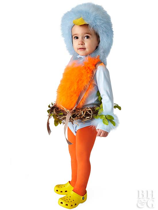 Adorable Bird Halloween Costume for Kids