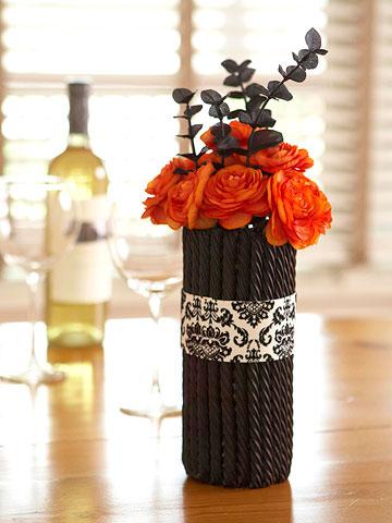 Sweet & Sinister Halloween Vase