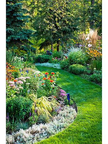 Create a nonstop border for Garden design ideas usa