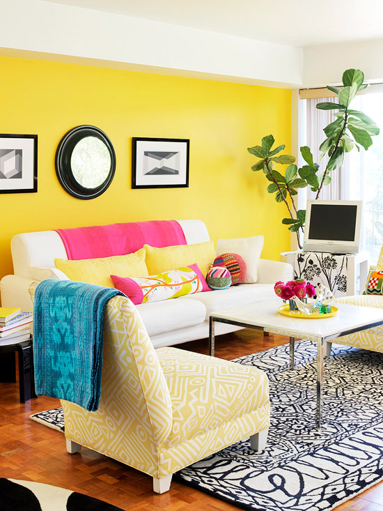 House Tours: Bright & Colorful Condo