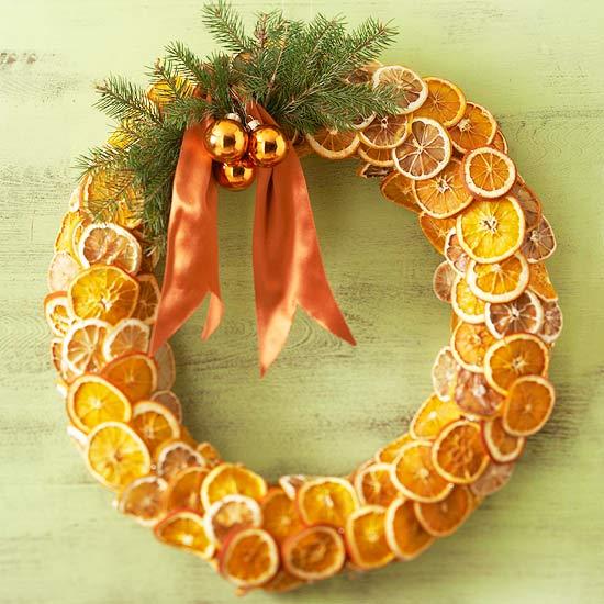 Fragrant Fruit Wreath