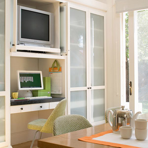 Tips for Incorporating a Kitchen TV - Better Homes and Gardens ...