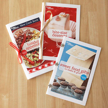 free sweet food gifts mini cookbook better homes gardens