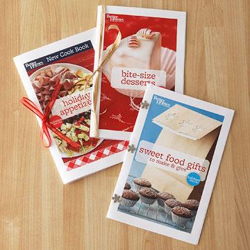Free Sweet Food Gifts Mini Cookbook