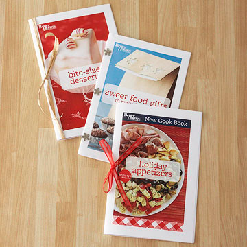 Free Holiday Appetizers Mini Cookbook from the Red Plaid Cookbook