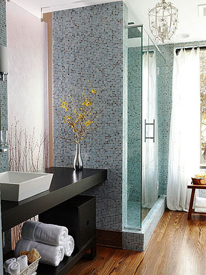 Small Bathroom Ideas: Contemporary Style Baths