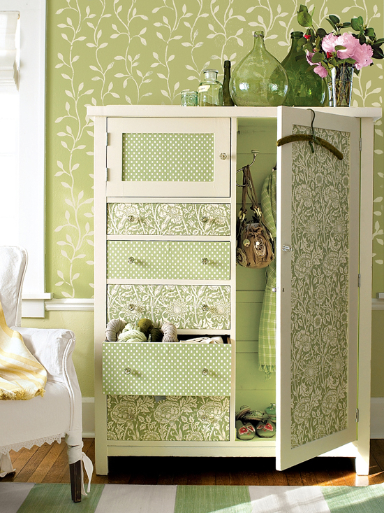 Revamped armoires for small space storage with a new look - Armoire for small spaces ...