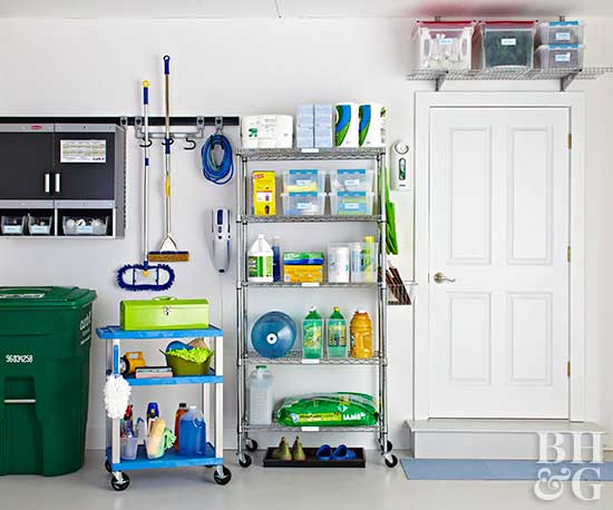 Organization Ideas For Storage Smart Garages