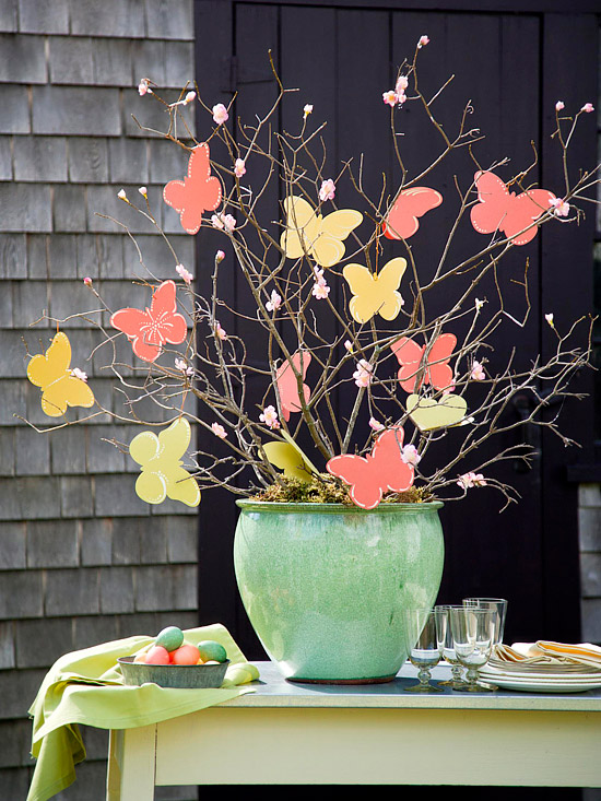Easter Butterfly Tree