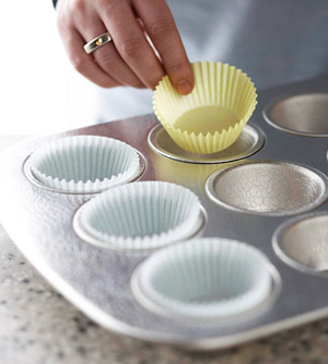 Can Put  Cupcake Recipie Into Cake Tin