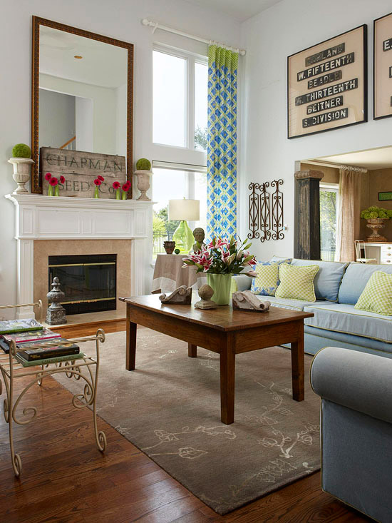 House Tours Old Meets New Thanks To Flea Market Finds