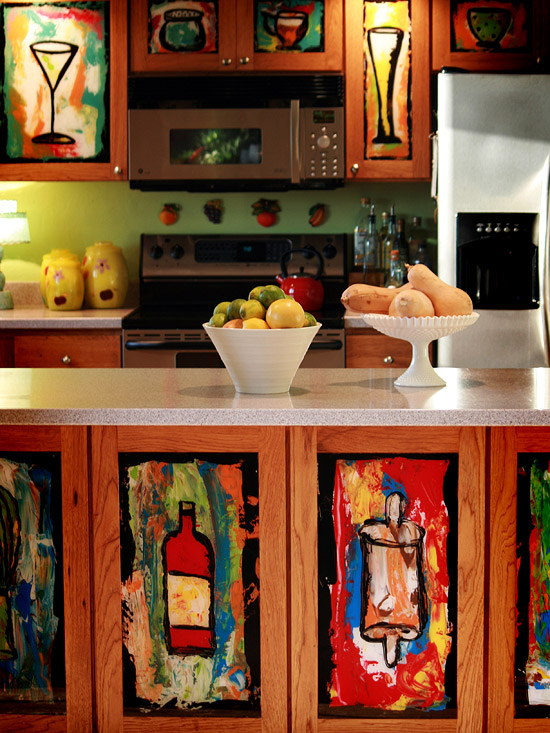 Easy Update To Kitchen Cabinets