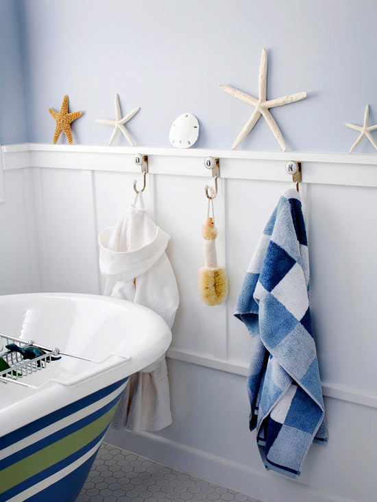motifs kid bathroom - Bathroom Decorating Ideas For Kids