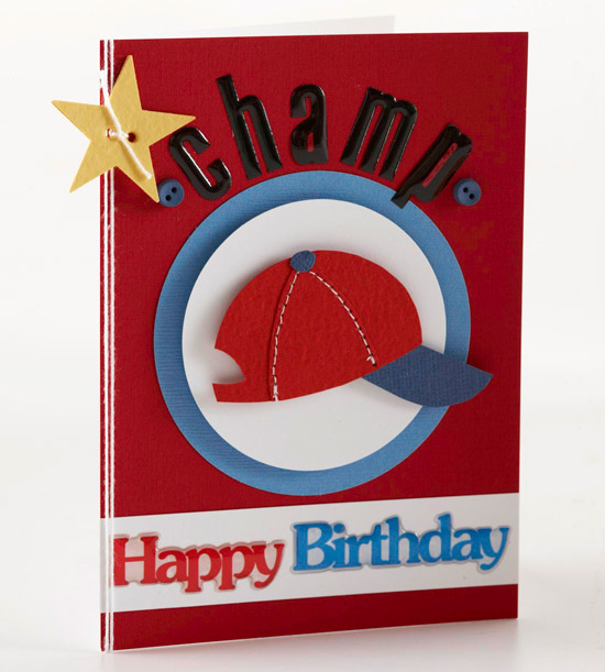 Easy handmade birthday cards for boys from better homes and gardens sports fan birthday card bookmarktalkfo Gallery
