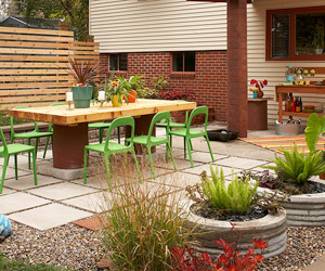 Designs For Backyard Patios design your space Backyard Patio Transformation