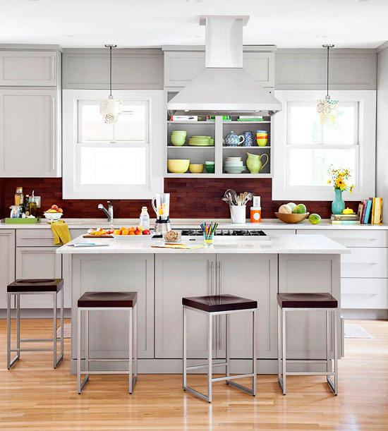 The Hue You Pick For Your Gray Kitchen Cupboards Depends On Personal  Preference, But It Also Has A Bit To Do With The Space You Are Working With.