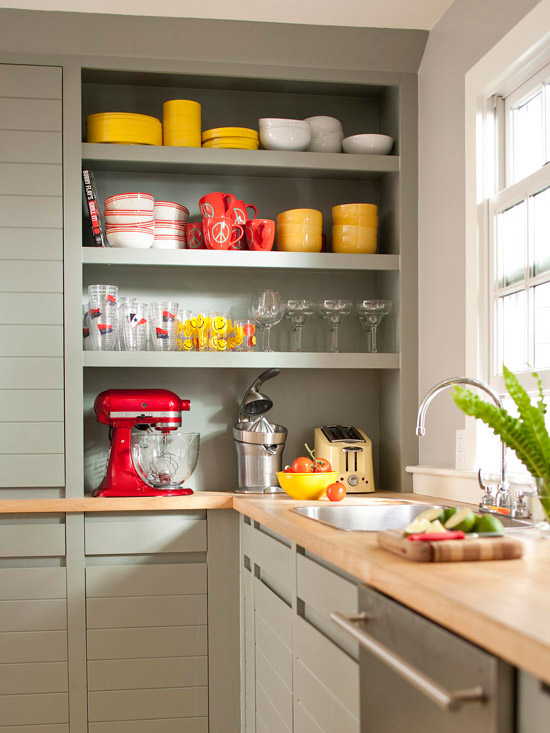 Low Cost Kitchen Updates Better Homes And Gardens