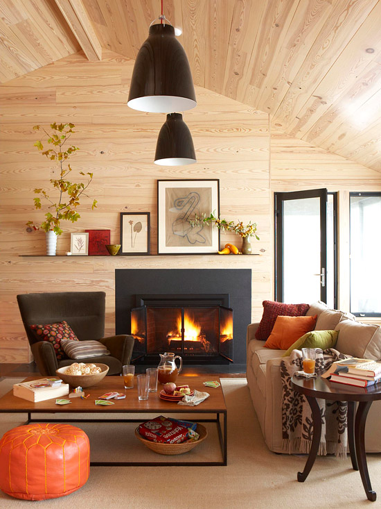 How to Add a Fireplace