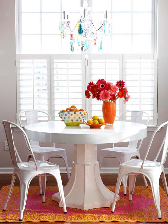 A Breakfast Room with Pizzazz