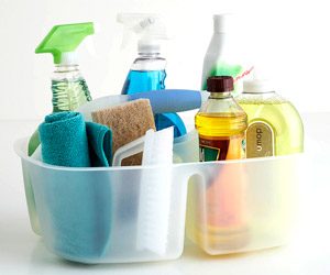 Stock Your Cleaning Caddy With These Basic Supplies And You Ll Be Prepared To Tackle Almost Any Challenge Corral Everything In A Single