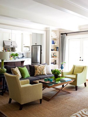 Color In An Open Plan
